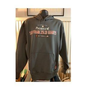 SF Giants 2010 MLB ThermaBase Hoodie LARGE NWT